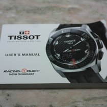 "Tissot booklet for ""racing touch"" models"