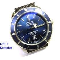 Breitling Super Ocean Heritage in Blau mit Stahlband (Neu)