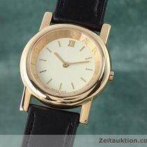Bulgari 18k (0,750) Gold Anfiteatro Damenuhr At29gl