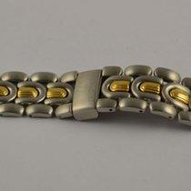 Universal Genève Stahl/gold Armband Bracelet 20mm Golden...