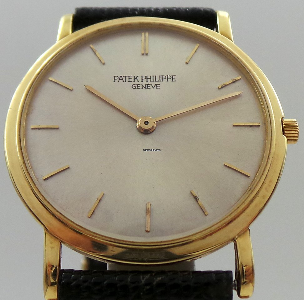 Patek Philippe Calatrava Vintage Manual 18k Yellow Gold for $7,000 for sale  from a Seller on Chrono24