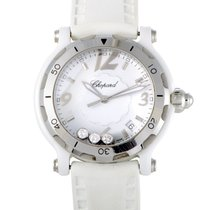 Chopard Happy Sport Ceramic Womens Quartz Watch 288507-9020