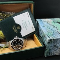 Rolex 2004 ROLEX SEA DWELLER 16600 WITH BOX AND PAPER
