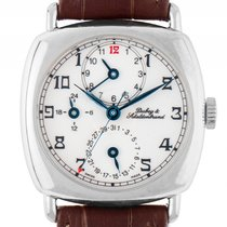 Dubey & Schaldenbrand Diplomatic GMT 925 Sterling Silber...