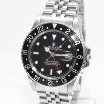 Rolex GMT Master Stahl 16750 Box von 1985