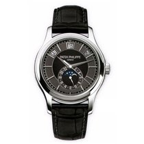 Patek Philippe Annual Calendar Moon Phase In White Gold - 5205g