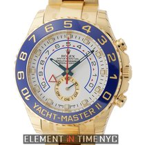 Rolex Yacht-Master II Countdown Function 18k Yellow Gold White...