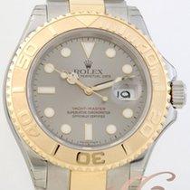 ロレックス (Rolex) ヨットマスター グレー Yacht Master 18k Gold