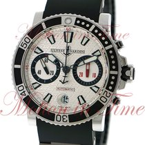 Ulysse Nardin Maxi Marine Diver Chronograph 42.7mm, Silver...