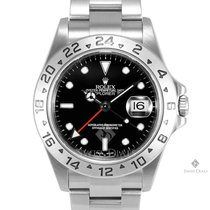 Rolex Explorer II Stainless Steel Black Index Dial 24hr Bezel...