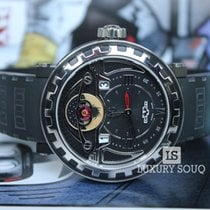 Dewitt BLACKSTREAM TRIPLE COMPLICATION GMT3 TITANIUM AND RUBBER