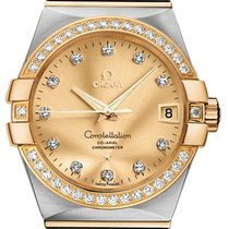 Omega Constellation Co-Axial Automatic 38mm 123.25.38.21.58.001