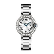 Cartier Ballon Bleu Quartz Ladies Watch Ref WE9003Z3