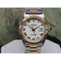 Rolex OYSTER PERPETUAL DATEJUST THUNDERBIRD WHITE DIAL ROMAN 36MM