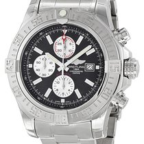 Breitling Super Avenger II Black Dial A1337111/BC29SS