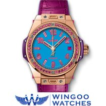 Hublot - BIG BANG - POP ART KING GOLD ROSE Ref. 465.OP.5189.LR...