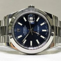 Rolex Datejust II - Datejust 41 - blue dial - PERFECT CONDITION -