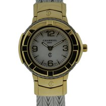 Charriol Celtic 38mm Pvd Yellow Gold Mop Dial On Stainless...