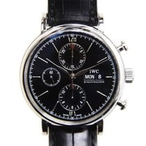 IWC Portofino Stainless Steel Black Automatic IW391008
