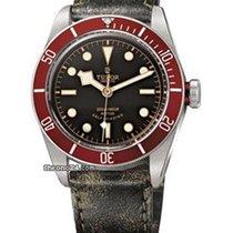 Tudor BLACKBAY Vintage Ghiera Rossa Pelle Invecchiata