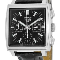 "TAG Heuer ""Monaco"" Automatic Chronograph Strapwatch."