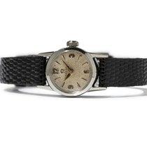 オメガ (Omega) Ladies Stainless Steel Wristwatch