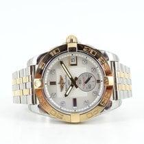 Breitling Galactic 36 MOP diamond dial bicolor bracelet (incl...
