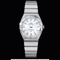 Omega Constellation Quartz Mother of Pearl Dial 27 MM T
