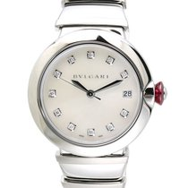 Bulgari LVCEA Automatic Steel Diamonds 36mm -SALE-