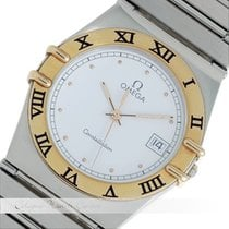 Omega Constallation Stahl / Gold Quarz