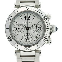 Cartier 2995 Pasha Seatimer Chronograph 42.5 mm W31089M7