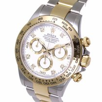 ロレックス (Rolex) Cosmograph Daytonal Diamond Index Yellow Gold...