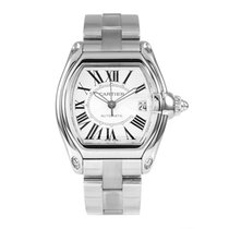 Cartier Roadster Large Silver Dial Automatic