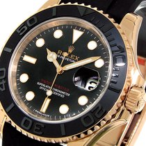 Rolex Yachtmaster 40 Mm Everose Pink Rose Gold 116655 Oysterfl...