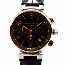 "Louis Vuitton ""Tambour Chronograph"" Watch - Q1121 -..."