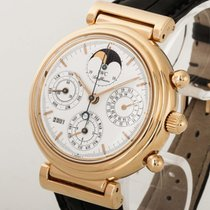 IWC Da Vinci Ewiger Kalender Gold/Krokolederband Ref. IW3750