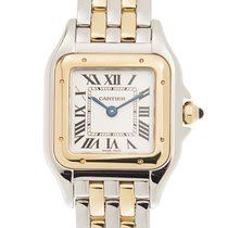 Cartier Panthère De Cartier 18k Gold Steel White Quartz W2PN0006
