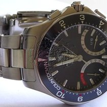 TAG Heuer Aquaracer Calibre S Regatta Chronograph Grey Mens Watch
