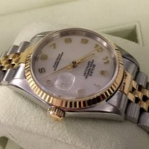 Rolex Oyster Datejust Gold Steel Cream Jubilee Dial 36 mm (1995)
