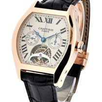 Cartier W1548151 Tortue XL - Tourbillon Chronograph - Rose...