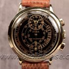 Doxa 14kt. Pink Gold Regulator Chronograph Cal. Venus 140