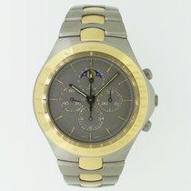 オメガ (Omega) Speedmaster Teutonic Mondphase Titan/Gold ultra...