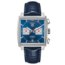 TAG Heuer Men's CAW2111FC6183 Monaco Calibre 12 Watch