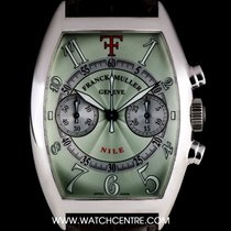 フランク・ミュラー (Franck Muller) 18k W/G Green Dial Ltd Ed Theo...
