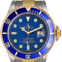 Rolex Submariner Diamond Pre-Owned 16613 LD