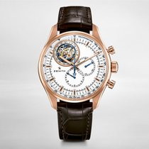 Zenith EL PRIMERO Tourbillon 45mm ROSE GOLD  Chronograph Leather
