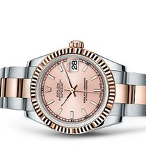 Rolex Lady-Datejust pink index dial FULL Set unworn