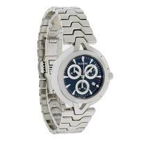 Valentino Mens Blk Dial Swiss Chronograph Quartz Watch...