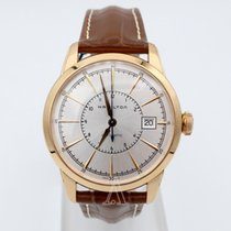 Hamilton AMERICAN CLASSIC RAILROAD Steel PVD Rose Gold Leather...