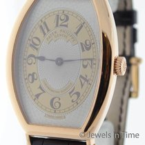 Patek Philippe 5098 Gondolo 18K Rose Gold Mens Wrist Watch...